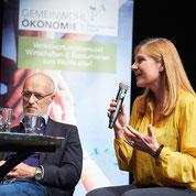 Mit am Podium: Toni Innauer, Schispringerlegende und Bio-Unternehmer (c) Foto Flausen