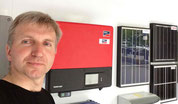 Solar Energie Erzeugungs - Beratung  Solaranalgen Gülle Biogas KWK Bhkw Foto Solarstrom Simon