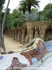 Park GUELL - Gaudi - Barcelone