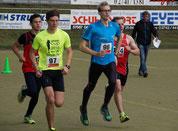 Start zu einem schnellen Rennen: Förster, Hohndorf, Freidhof, Weschpfennig, Beobachter