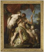 François Lemoyne, Hercule et Omphale, Musée d'Abbeville, © Bréjat-RMN