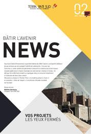 Une newsletter print semestrielle sur le secteur du bâtiment rédigée par Solweg - Nice, PACA