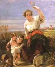 GONSALVO CARELLI - Allegoria di primavera