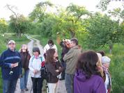 Trotz Muttertag: 37 Interessierte nahmen an der Vogelstimmenwanderung am 08.05.2011 teil!