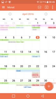 CalDAV in Kalender App ansehen