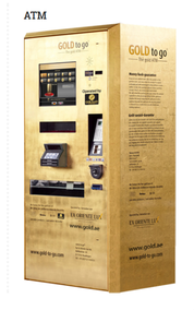 ATM Goldautomat