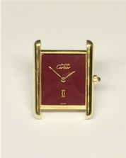 Cartier Tank Silber vergoldet 68334 681006 67033