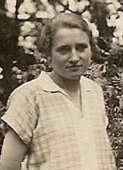 Minna Faltin (neé Behnert), 1927