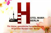 Die kleine gemütliche Ferienwohnung im grünen Norden von Berlin