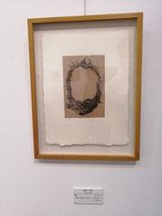 輪 楮紙に銅版画 /雁皮刷り (手漉き紙) 180×120mm 23,100円(税込)