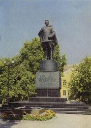 Vilnius. I.D. Černiachovskio paminklas. 1972. Nuotr.A. Bogdanavo / Monument to I. D. Černiachovskis. 1972. Photo by A.Bogdanovas