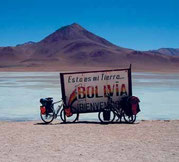 Grüne Lagune kurz hinter der Grenze nach Bolivien Foto:Setours Archi Paititi-Tours