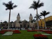 Lima Kathedrale Plaza Mayor Paititi-Tours