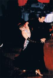 柳橋久美子のボールルームドレス(黒)