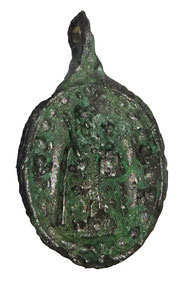das Pilgermedaillon mit Maria, gefunden von Urs Baumberger