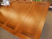 ダイニングテーブル おしゃれ 四角 長方形 バルボスレッグ オーク 無垢材 伸縮 パイナップエンド スクエア レキュタングラー クラシック アンティーク