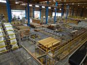 工場見学 製材施設