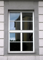 Kranz Isolierglasfenster, Einfachfenster mit schmalen Profilen
