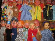 Einblick in die Puppenwerkstatt