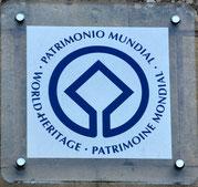 Logo do Patrimoine mondial de l'Unesco