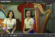 Harfonie zu Gast im Landesstudio Tirol