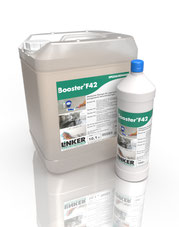 Booster F42, alkalischer Schonreiniger, Linker Chemie, Reinigungsmittel