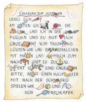 """""""Das wird ein Fest"""", für KLEINE BRIGITTE, Gruner & Jahr"""