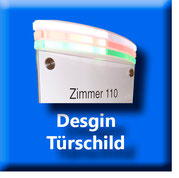 Design Türschild
