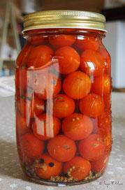 Tomates cerises au vinaigre de cidre
