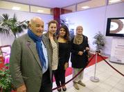 Pierre Troisgros, membre fondateur de notre association, en visite sur notre stand.