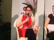 Marie Kerouedan (adhérente BG) participe à la table ronde Cuisiner sans gaspiller. - Plaisir et conscience alimentaire, éditions Sang de la Terre -