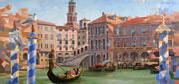 Gemälde-Serie Venedig für die AIDA