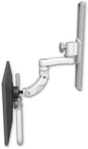 ウォールマウント 壁面固定 ディスプレイ用 ウォールトラック+モニターアーム VESA:ASUL560I-T19-AS1