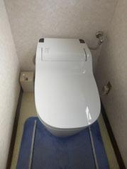 最新のトイレにリフォーム済み!