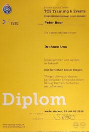 Diplom Drohnenkurs