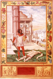 Allégorie du démembrement - Splendor Solis - XVIème siècle