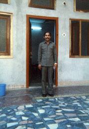 Raj Hotel のマスター