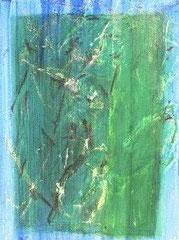 Liebe 4, Mischtechnik auf Holz, 70 x 100 cm, 2007