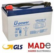 UpowerUPG100-12 12V-100Ah - GEL