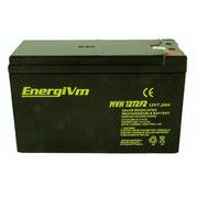 EnergiVm MVH1272F2 12V-7,2Ah AGM-ALTO-RENDIMIENTO