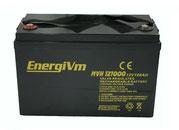 EnergiVm MVH121000 12V-100Ah - AGM-ALTO-RENDIMIENTO