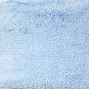 Teddy Plüsch Krimer baby- blau, 100% Baumwolle, Öko Tex 100
