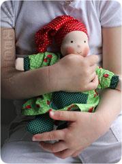Купить эко куклу натуральную для девочки