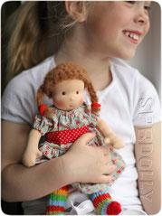 купить красивую и качественную  вальдорфскую куклу в кукольной мастерской ирины андреевой