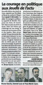 Article Nice-Matin 08.12.13