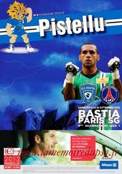 Programme  Bastia-PSG  2012-13