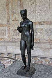 Psyché sous l'empire du mystère, bronze, Paris, Petit Palais.