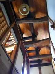 2階 階段室天井