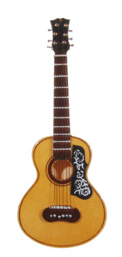 Mini Gitarre aus Holz