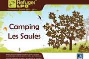 Camping Sites & Paysages  Les Saules à Cheverny - Loire Valley - Le camping, refuge LPO